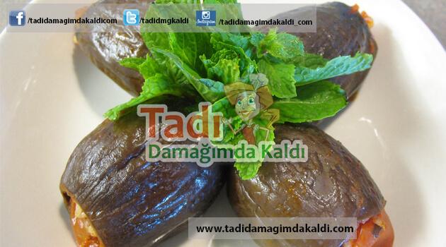 Zeytinyağlı Patlıcan Dolması