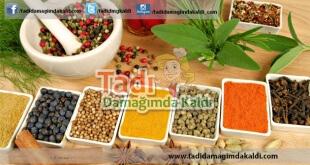 Sebze Yemeklerinde Kullanılan Garnitür ve Soslar